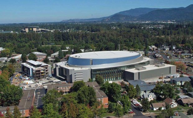 UNIVERSITY OF OREGON MATTHEW KNIGHT ARENA